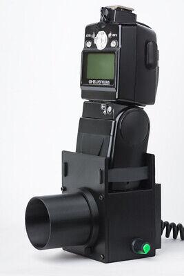 Olympus Bh2 Bhs Microscope Illuminator Flash Adjustable Led Light Housing