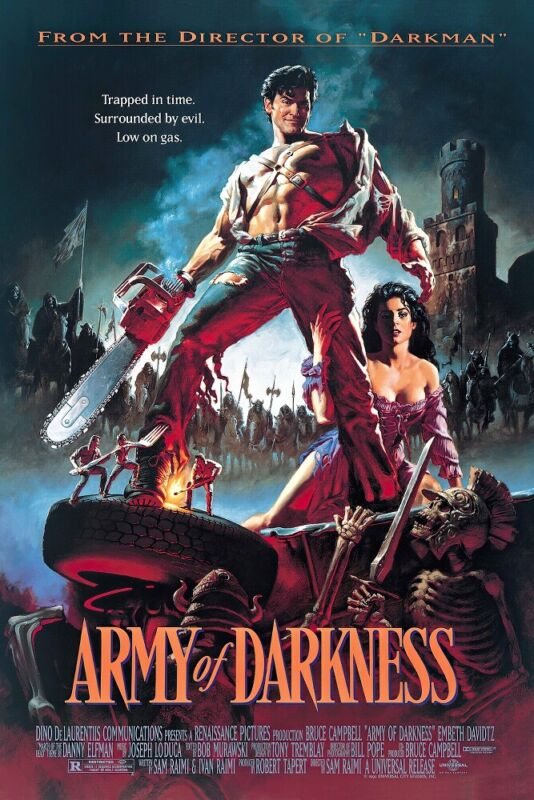 """Army Of Darkness - Movie Poster (Regular Style) (Size: 24"""" X 36"""")"""