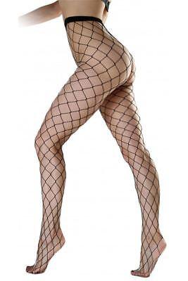 Pamela Mann Strumpfhose Extra Large Net Plus Size 20-26-Netz-Schwarz ()
