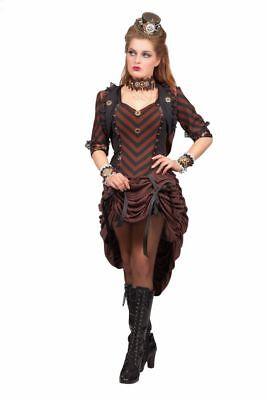 Saloon Girl (WIL - Damen Kostüm Saloon Girl Steampunk Karneval Fasching)