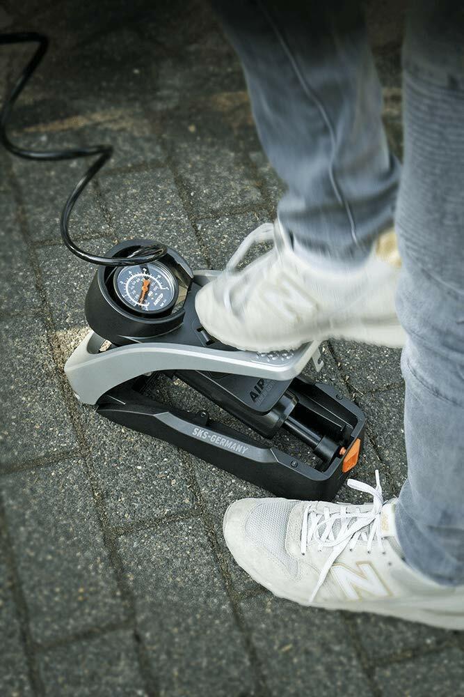 SKS - Foot Pump - Airstep - Award-winning Ergonomic Foot Pump - Black - $99.99