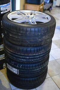 Audi S4 S6 19 inch OEM rims and Continental Tires 255/35R19
