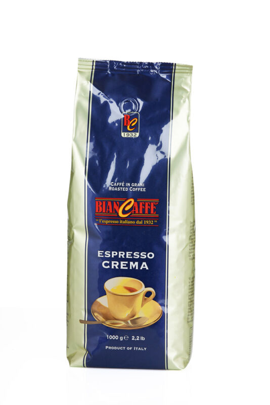 Biancaffe Espresso BAR Blu - Coffee IN Whole Beans (22lbs)