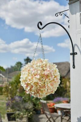 Outdoor Garden Faux Artificial Topiary Hydrangea Flower Ball Decoration 30cm -