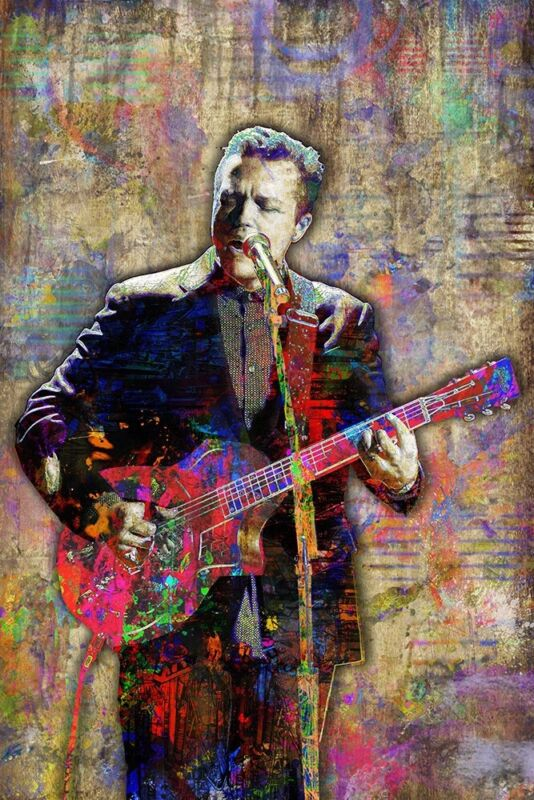 JASON ISBELL 12x18inch Poster Jason Isbell Artwork Country Pop Free Shipping