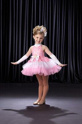 RIBBONS & BOWS Babydoll Tutu Dress Dance Ballet Costume CM,CL,CXL -119 HALLOWEEN (Halloween Ballet Dance)