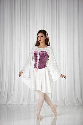 Halloween Ballet Costumes (Juliet Renaissance Princess Halloween Costume Ballet Lyrical Dance Child XS &)
