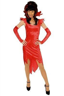 Damen Teufel Halloween-kostüm (Teufel Kostüm Damen rot Hexe Teufelskostüm Teufelin Halloween Karneval Fasching)
