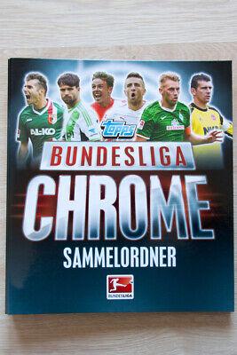 Topps  Bundesliga Chrome Sammelordner Mappe mit 174 Karten Cards TOP !!!!!! (Fußball-karte Ordner)
