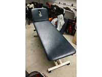 Akron Hydraulic Therapist Couch for sale, Large, Used in Acupuncture Clinic, Very Good Condition