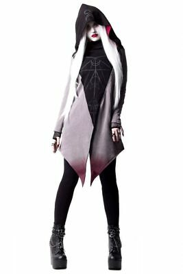 lf Zip-Hoody Moon Ritual-Gothic-Nugoth- XXL Kapuze (Wolf Kapuze)