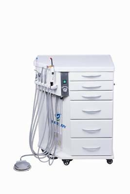 Greeloy Mobile Dental Delivery System Movable Cabinet Portable Treatment Fly