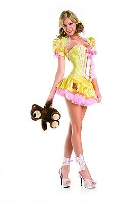 Sexy Adult Halloween Deluxe Goldie Goldilocks Costume - Goldilocks Halloween