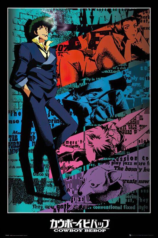 Cowboy Bebop - Manga / Anime TV Show Poster / Print (Spike)