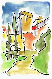 Artisteri-Llop-Tarragona-muralla-litografia-30x21-edicion-limitada