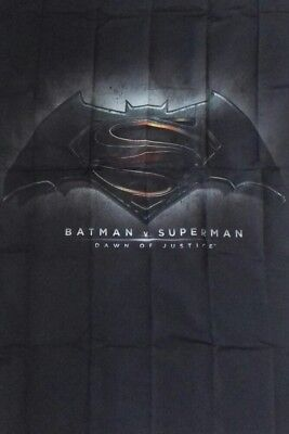 "JLA - Batman Vs Superman Dawn Of Justice Fabric Poster Official DC 26""X40"" Huge"