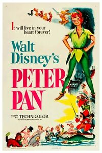 WALT DISNEY'S PETER PAN POSTER 12