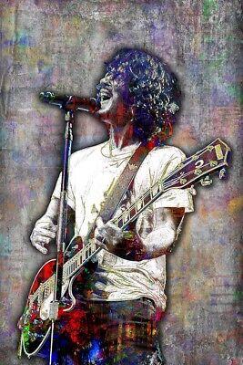 Chris Cornell Tribute Poster  Soundgarden Pop Art Memorial 12X18in Free Ship
