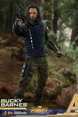 HOT TOYS Bucky Barnes Avengers Infinity War 1/6 Scale Figure MINT NEW IN BOX!!!