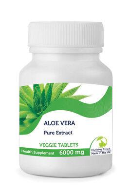 Aloe Vera Extrakt 6000mg 30/60/ 90/120/180/250 Tabletten Tabletten