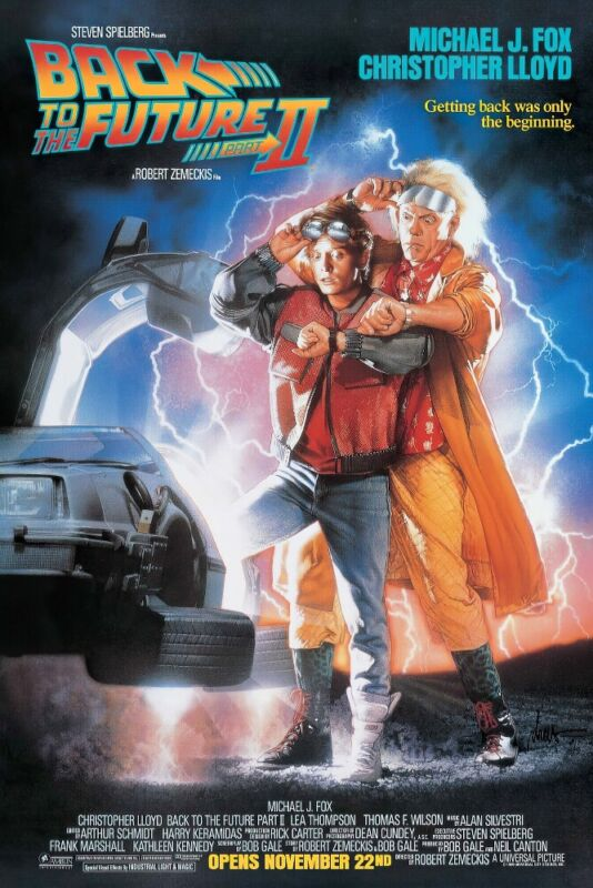 """Back To The Future II - Movie Poster (Regular - Bttf Part 2) (Size 24"""" X 36"""")"""