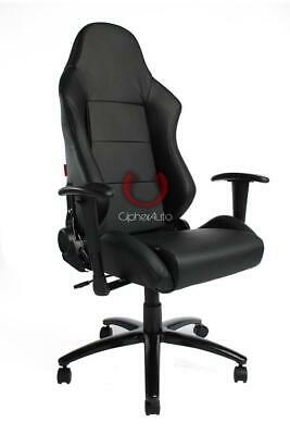 CIPHER Racing Seat Black Premium Leatherette Office Gaming Chair CLEARANCE SALE! for sale  Shipping to Nigeria