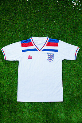 England 1982 World Cup Football Shirt | Retro | Home Shirt | White