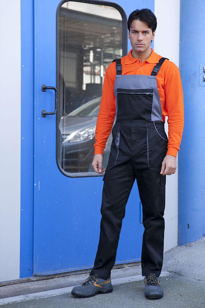 Salopette Pantalone Pantaloni da Lavoro Meccanico Operaio Abbigliamento Abiti