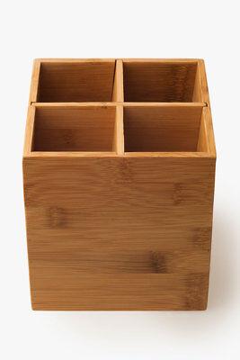 Besteckständer Besteckhalter Aufbewahrungsbox  L 13,5 cm x B 13,5 cm x T 14,5 cm