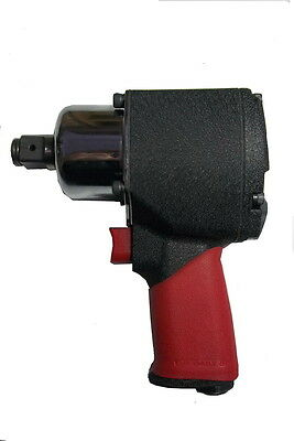 Pneumatic Mini 34 Dr. Air Impact Wrench Max. 1000 Ft-lbs