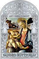 Andorra 2012 Botticelli Madonna Con Angeli Argento 999/1000 - Capolavoro -  - ebay.it