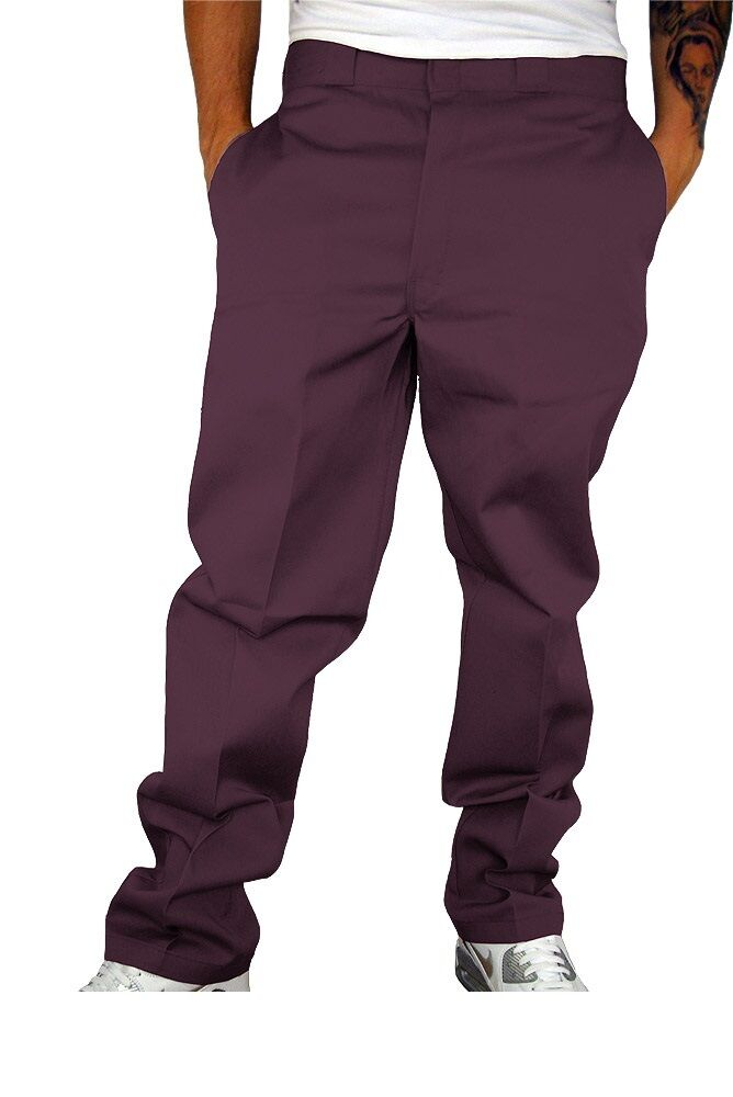 Dickies O Dog 874 Work Pant Stoffhose Chino Work Pant Maroon 33/32