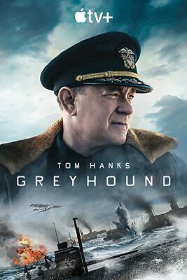 GREYHOUND DVD (2020) BRAND NEW FREE SHIPPING WITH TRACKING TOM HANKS