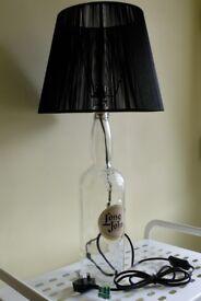 Vintage Long John Whiskey Bottle (4.5Lt) Spirit Table Lamp
