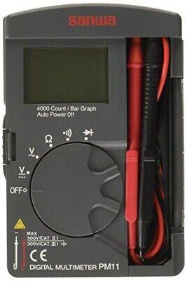 Sanwa Digital Multimeter Pm11 New Fs