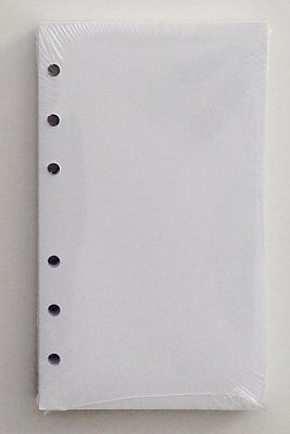 356blank 3-12 X 6 Inch White Unlined Filler Paper For Little 6ring Binder