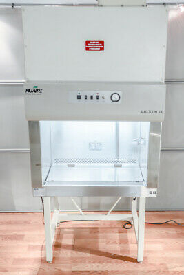 Nuaire Nu-425-300 Bio Safety Cabinet Laboratory Fume Hood Class Ii Type A B3