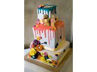 Affordable Celebration, Novelty, Birthday & Wedding Cakes North London Barnet