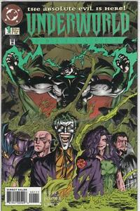 Underworld Unleashed - complete mini-series - DC comics