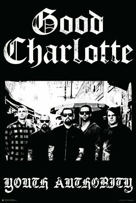 GOOD CHARLOTTE POSTER ~ YOUTH AUTHORITY ~ 24 x 36  Music Rock Joel Benji Madden