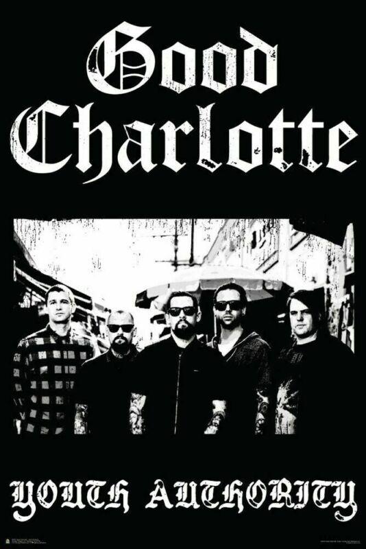 GOOD CHARLOTTE POSTER ~ YOUTH AUTHORITY ~ 24 x 36  Music Rock Joel Benji Madden