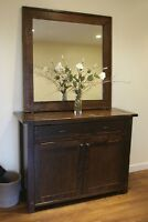 French Antique Dresser/Console All Wood & more!- By LIKEN