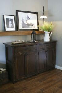 French Antique Buffet all wood & more! By LIKEN woodworks