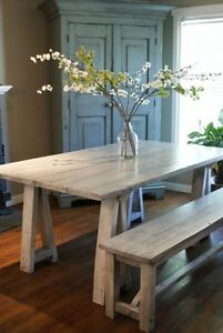 Farmhouse Collection: Dining Table Starting at $1295 and More! By LIKEN Woodworks