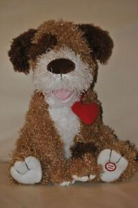 Valentines Talking and Barking Stuffed Dog