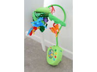 Fisher Price Rain Forest mobile-excellent condition
