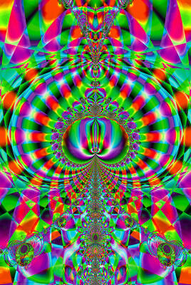 NEW BEGINNINGS - BLACKLIGHT POSTER - 24X36 - PSYCHEDELIC 428
