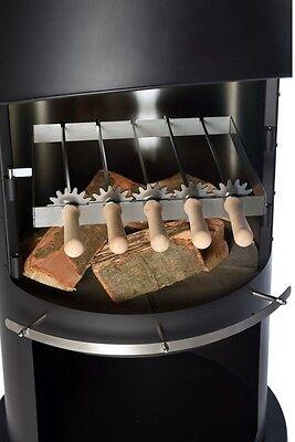 5 Grillspieße Grillspiesse für Firestar Grillkamine Kompakt und DN 700 DN 800