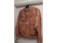 Biker jacket Size Medium same cut style as belstaff gangster