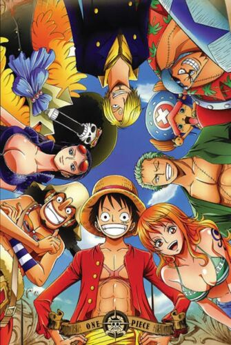 ONE PIECE - CIRCLE OF CHARACTERS POSTER 24x36 - 52975